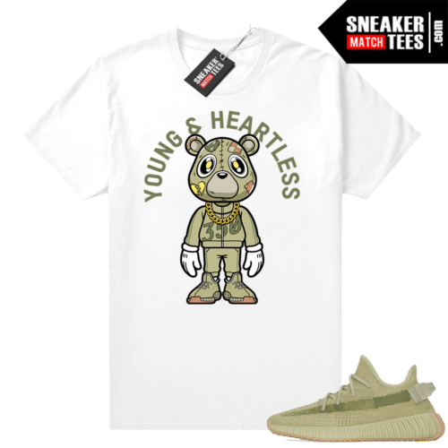 Sulfur 350 Yeezy Shirt Young & Heartless Bear