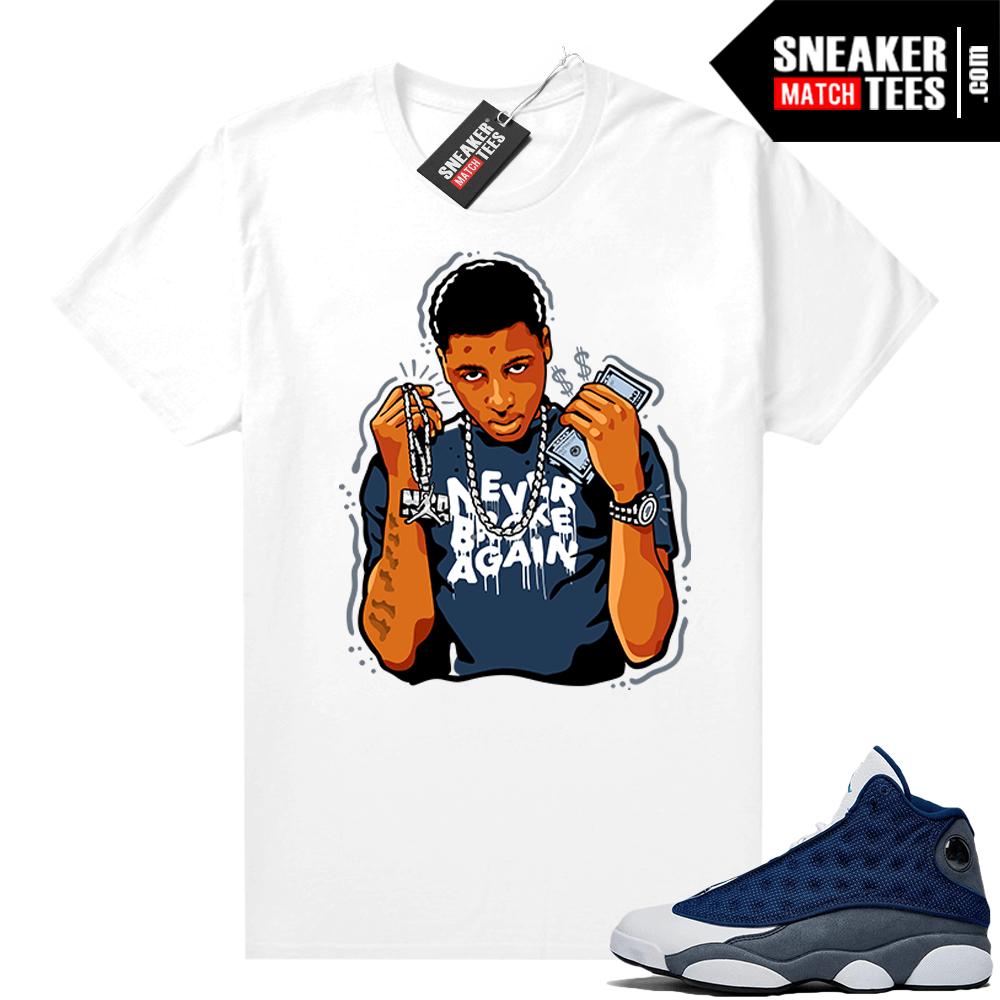 Young Boy NBA Flint 13s shirt   Sneaker