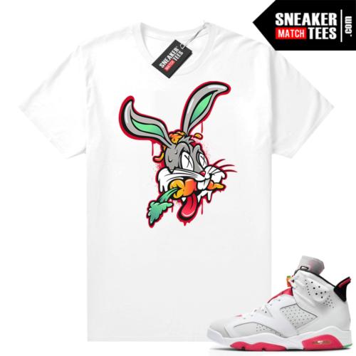 Hare 6s Jordan Sneaker tees White Trippy Hare