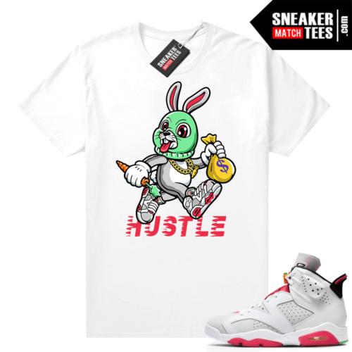 Hare 6s Jordan tees Hustle Hare Toon