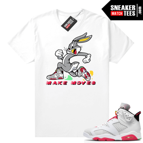 Hare 6s Jordan tees Make Moves Rabbit