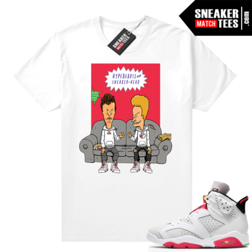 Hare 6s matching shirt Hype Beavis and Sneakerhead