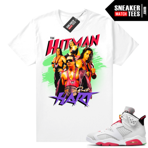 Hare 6s matching shirt The Hitman Hart Wrestling Tee
