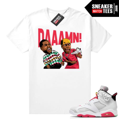 Hare 6s shirt DAAAMN