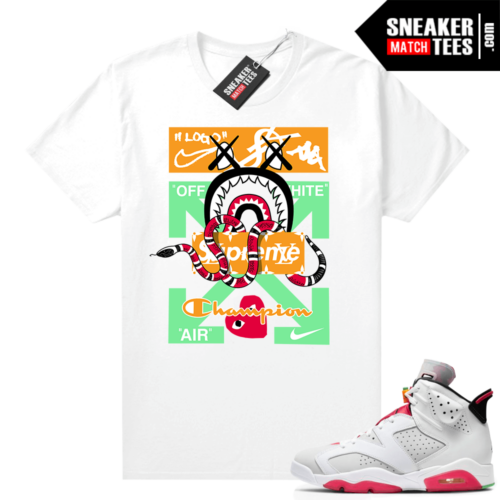 Hare 6s shirt Designer Mashup