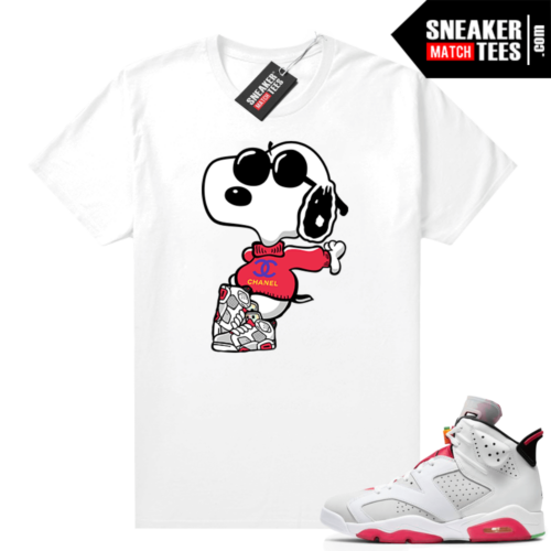 Hare 6s shirt Fly Snoopy