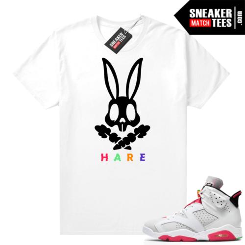 Hare 6s shirt Hare Danger