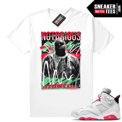 Hare 6s shirt Notorious 90s Style