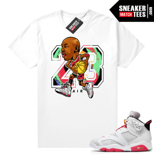 Hare 6s shirt Rare Air MJ Toon