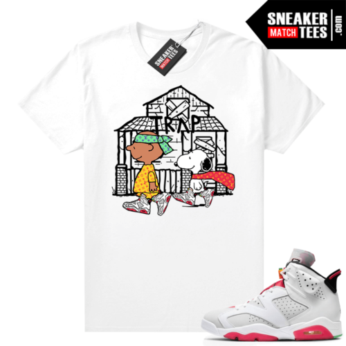 Hare 6s shirt Snoopy Trap House