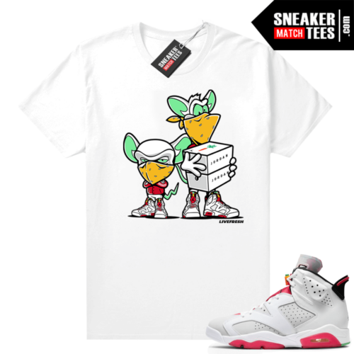 Hare 6s shirt to match Sneaker Heist