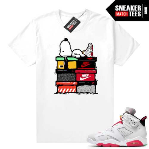 Hare 6s shirt to match Sneakerhead Snoopy