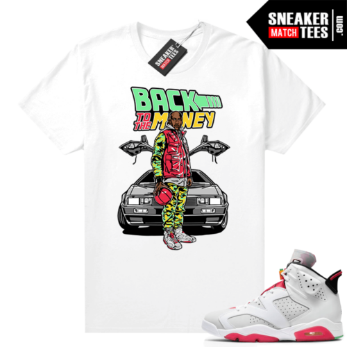 Hare 6s sneaker shirts Back to the Money