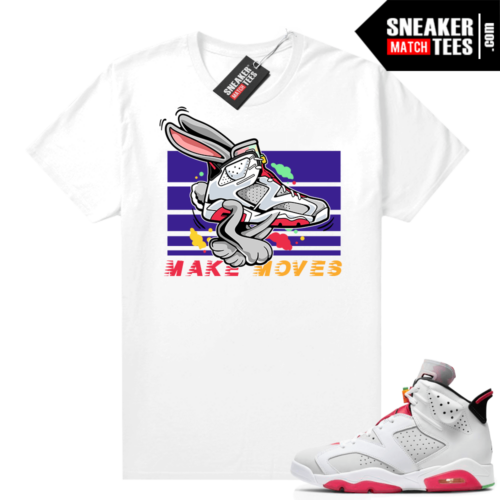 Hare 6s sneaker shirts Make Moves