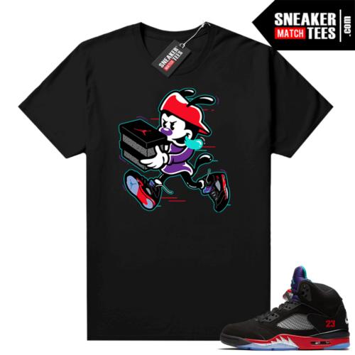 Jordan 5 Top 3 sneaker match shirt Double up