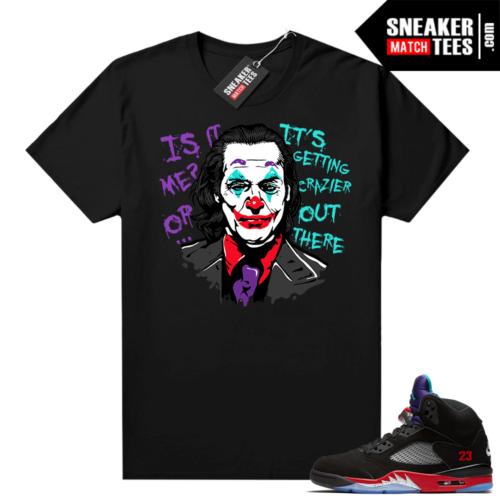 Jordan 5 Top 3 sneaker tees Joker