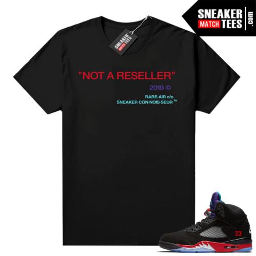Jordan 5 Top 3 sneaker tees Not A Reseller