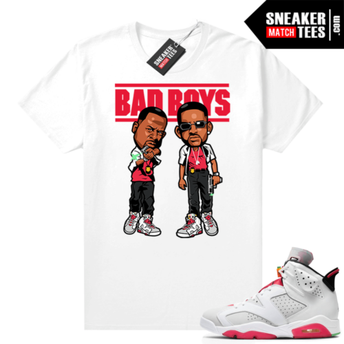 Jordan 6 Hare Sneaker tees Bad Boys