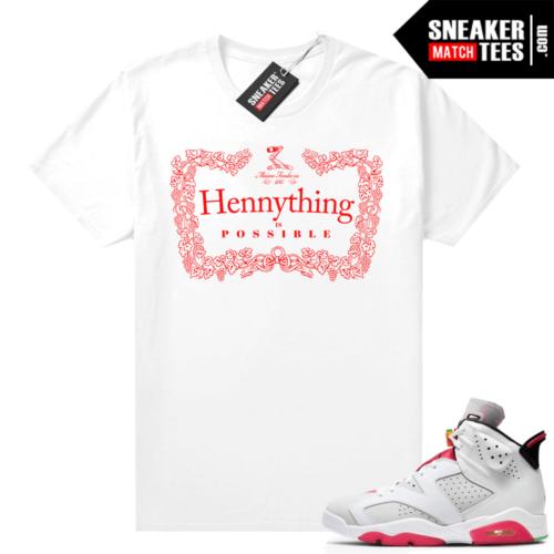 Jordan 6 Hare Sneaker tees Hennything
