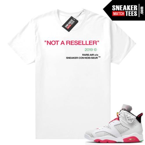 Jordan 6 Hare Sneaker tees Not A Reseller