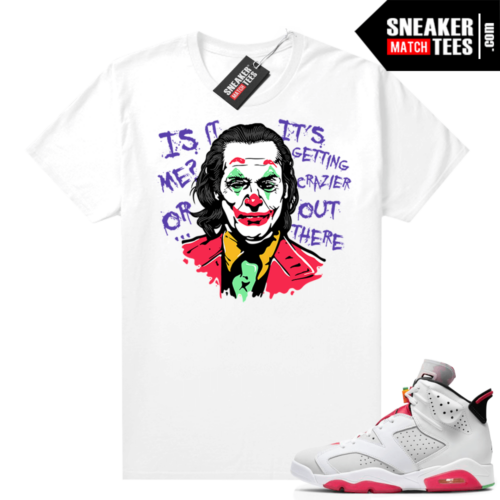 Jordan Hare 6s shirt Joker