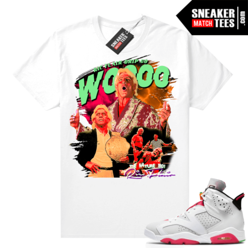 Jordan Hare 6s shirt Ric Flair Drip Wrestling Tee