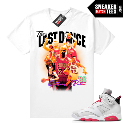 Jordan Hare 6s shirt The Last Dance
