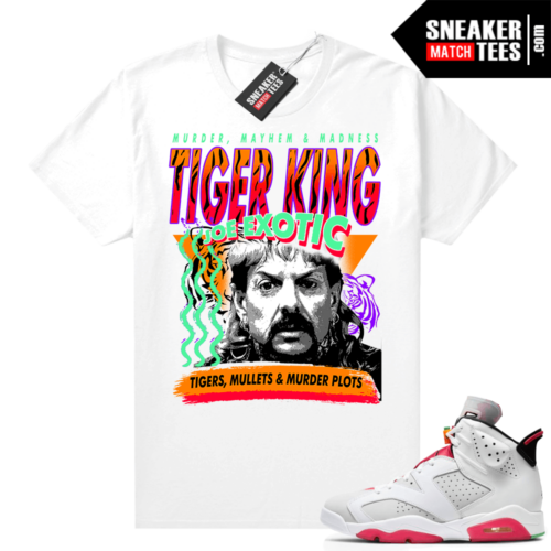 Jordan Hare 6s shirt Tiger King