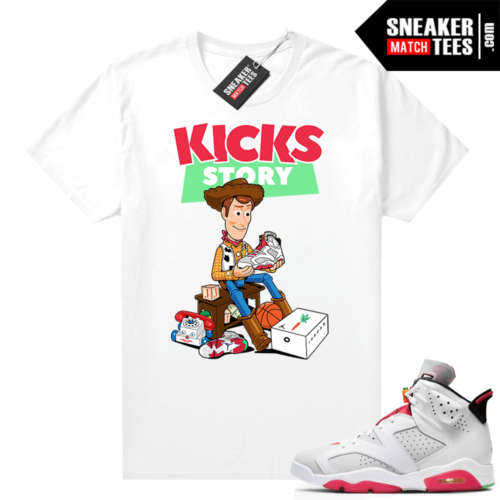 Shirt to match Hare 6s Kicks Story