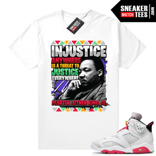 Shirt to match Hare 6s MLK
