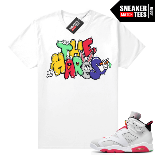 Shirt to match Hare 6s The Hares