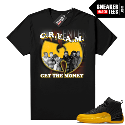 Sneaker Match Jordan 12 University Gold
