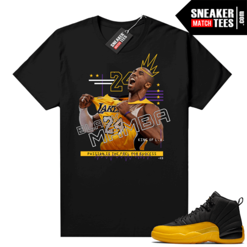 Jordan 12 University Gold Sneaker tees