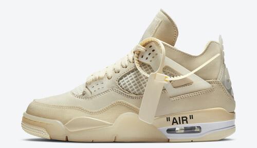 Jordan release dates Jordan 4 Off white WMNS