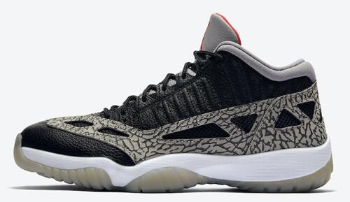 Jordan release dates July Jordan 11 IE Black Cement