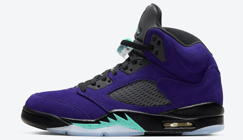 Jordan release dates July Jordan 5 Alternate Grape