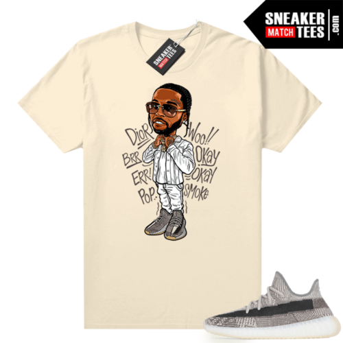 Zyon 350 Yeezy shirt Pop Smoke Toon