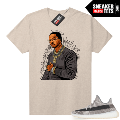 Zyon 350 Yeezy shirt Pop Smoke Tribute