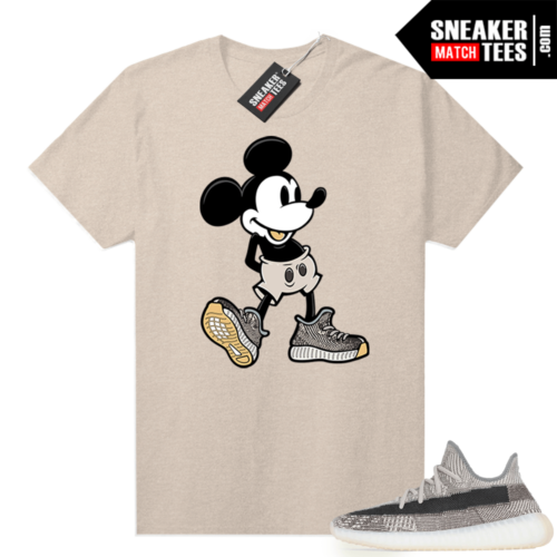 Zyon 350 Yeezy shirt Sneakerhead Mickey