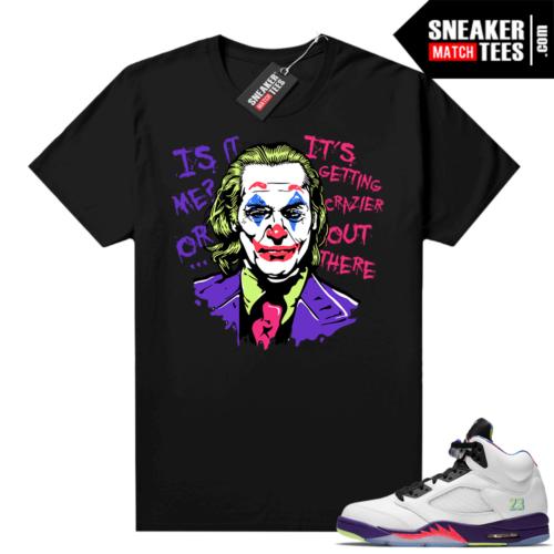 Joker Joaquin Phoenix Bel Air 5s Shirt