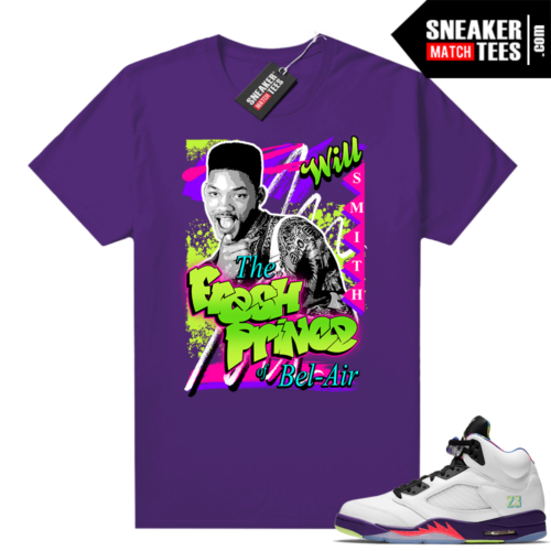 Fresh Prince of Bel Air Purple Shirt