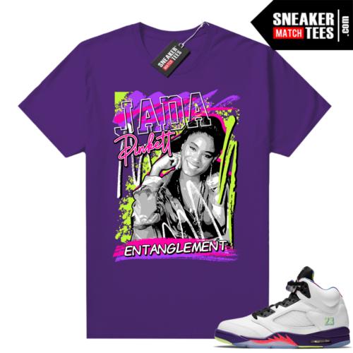 Entanglement Jada purple Shirt