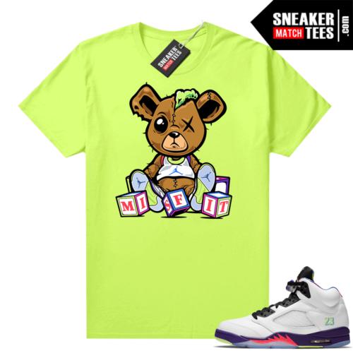 Bel-Air 5s Alternate matching shirt