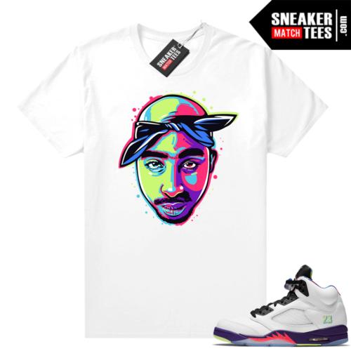Bel-Air 5s Alternate shirts 2pac pop art