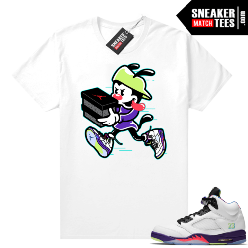 Bel Air 5s Alternate shirts White Double Up