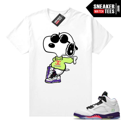 Bel Air shirt Jordan 5 sneaker match