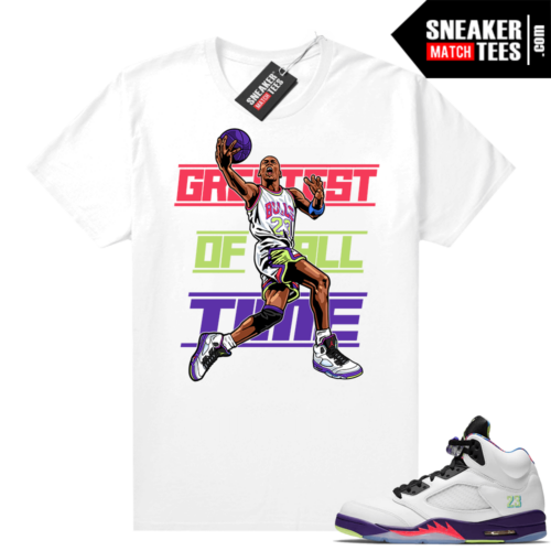Sneaker shirts Bel Air 5s Alternate