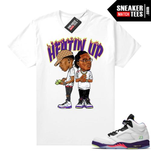 Shirts to match Bel Air Jordan 5s
