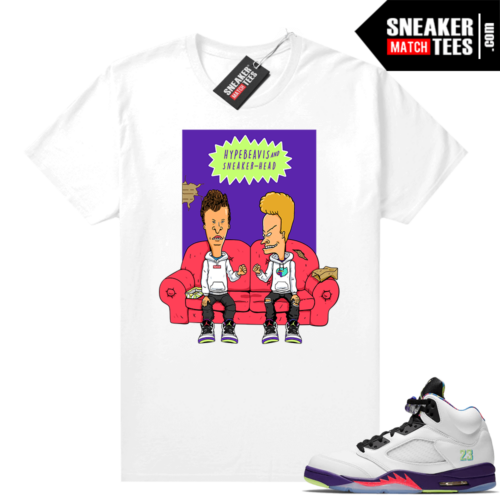 shirts to match Bel Air 5s White Alternate