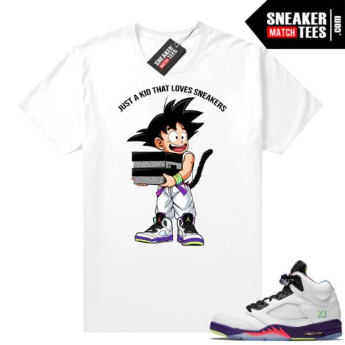 Sneaker shirts match Jordan Bel Air 5s
